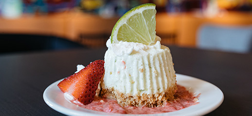 Key Lime Cheesecake Bite