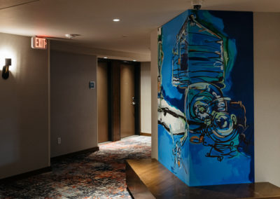 Revel Hotel Wall Painting
